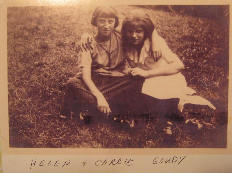 Helen and Carrie Goudy
