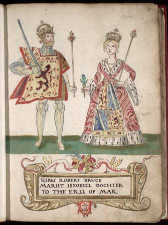"Robert I ""The Bruce"" and Isabella of Mar"