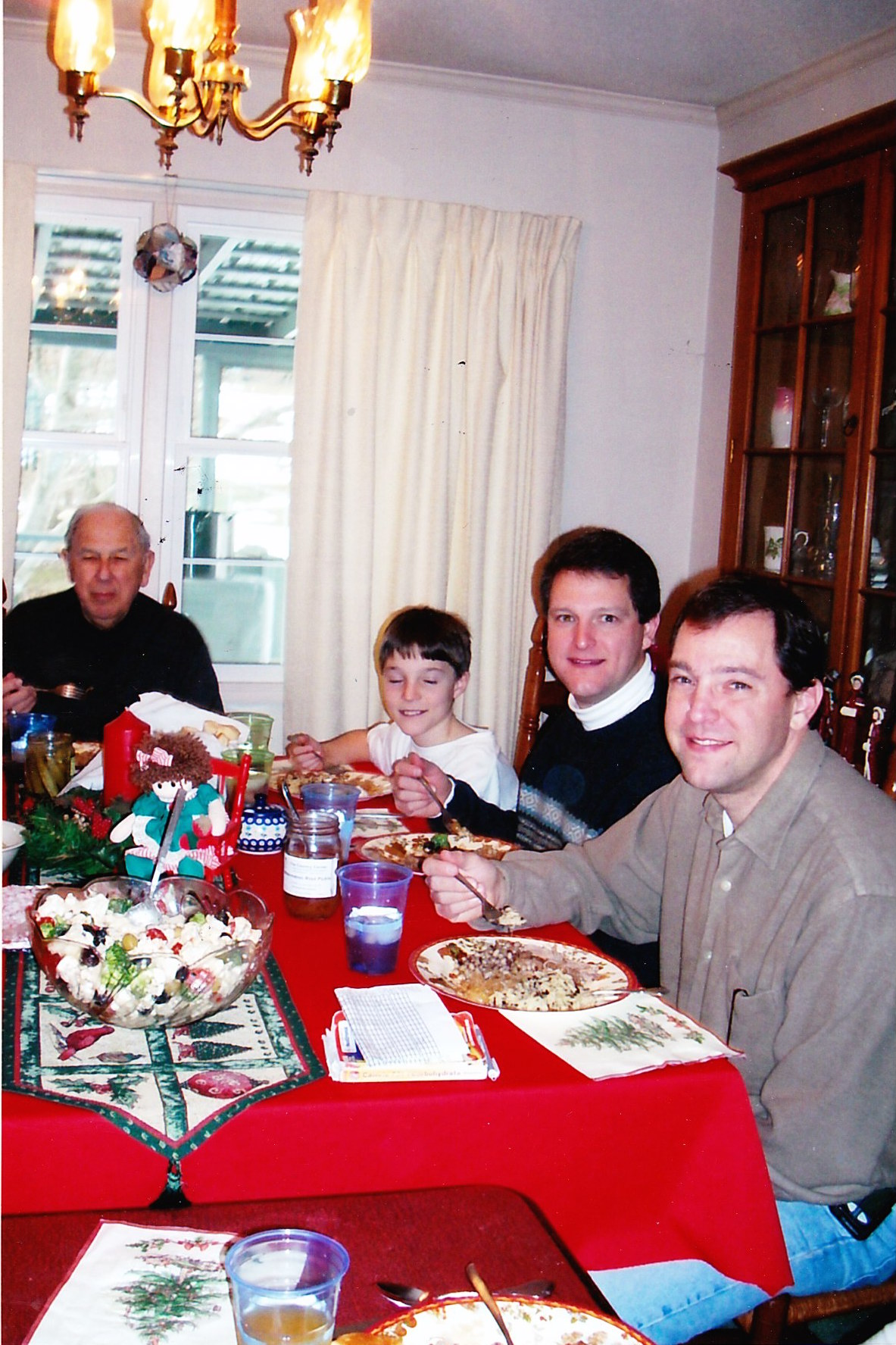 The Family of William H. and Carolyn Fisher Johnson
