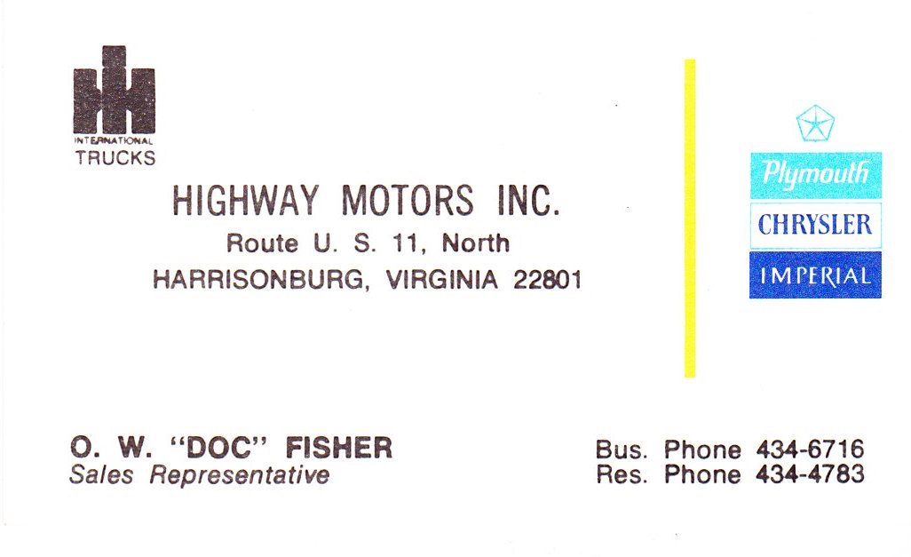highway motors harrisonburg va